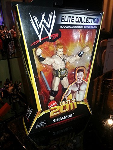 WWE - Catch - Figurines articulées - Séries Elites Best of 2011 - Sheamus