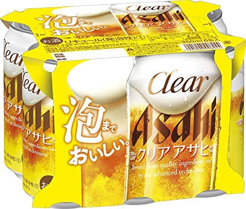 アサヒビール クリアアサヒ 6缶パック 東京2020西友CP 350×6