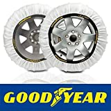 Goodyear GOD8011 Catene da Neve Tessile Ultra Grip, M, Set di 2, Bianco