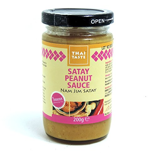 Thai Taste - Peanut Satay Sauce - Nam Jim Satay - 200g