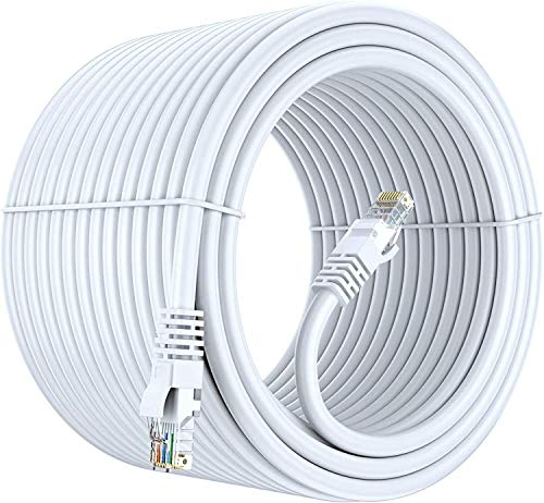FEDUS cat6 Cable, cat6 LAN Cable, ethernet Cable, Network Cable Internet Cable rj45 Cable LAN Wire High Speed Patch Computer Cord Gigabit Category 6E Wires for Modem, Router, LAN ADSL-15M