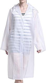 SNOWINSPRING Women Rainwear Men Rain Coat Transparent Raincoat NOT Disposable Waterproof Hooded Rain Cover impermeable Suit for fishing