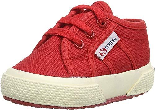 Superga 2750 Bebj Baby Classic, Unisex-Kinder Sneakers, Rot (Red 975), 19 EU