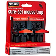 Pest-Stop Sure-Set Plastic Mouse Trap