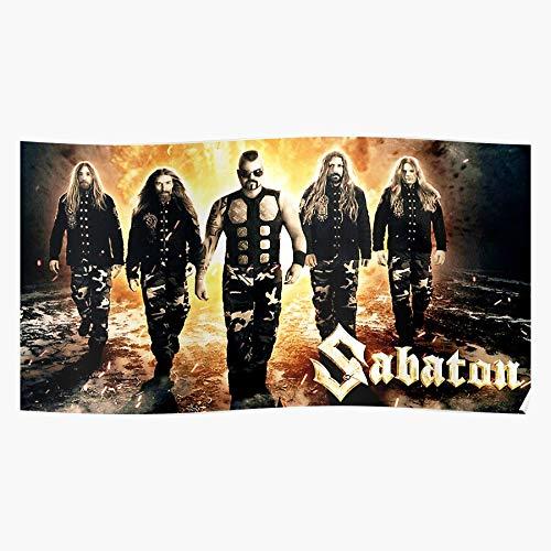 Band Heavy Ayamhutan Is Swedish Metal A Sabaton Home Decor Wall Art Pr