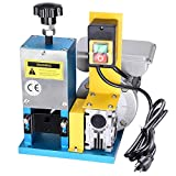 Yescom Electric Automatic Wire Stripping Machine Benchtop Powered Cable Stripper Tool 0.12-1' for Scrap Copper Recycling