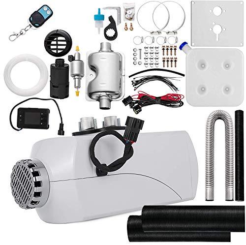 YY-LC Calentador de Aire Diesel 12V 5KW con Silenciador Calentador de Combustible Calefacción Estacionaria Diesel Calentador Coche Diesel Aire Calentador Motor Diesel