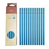 HAINAN 12 lápices profesionales de carbón para dibujo de carbono, suave, medio, duro, bajo costo, recompensa de música o artículos de papelería de regalo de clase