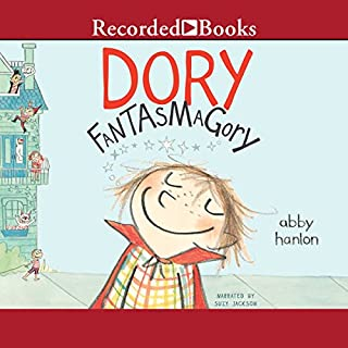 Dory Fantasmagory audiobook cover art