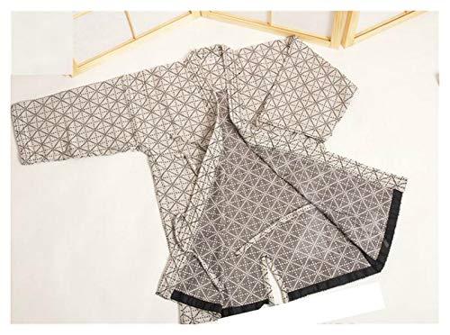 VIAIA Japanischer Kendo Uniform Neue 100% Baumwolle Aikido Hapkido Hemden Kampfkunst Kendo Jacken Sportswear 3 Farbe Laido Kendogi Cosutme (Farbe : Beige, Size : for Height 180cm)