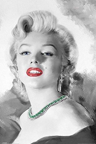 Pyramid America Marilyn Monroe Diamonds Cool Wall Decor Art Print Poster 24x36