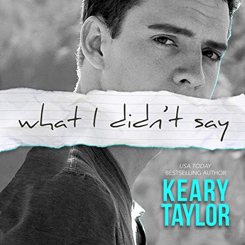 What I Didn't Say audiobook cover art
