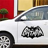 Batman sticker mural autocollant Cartoon Batman Décalque De Voiture Miroir Rétroviseur Latéral Décalque Bande Véhicule Véhicule Corps Accessoires Autocollants De Voiture