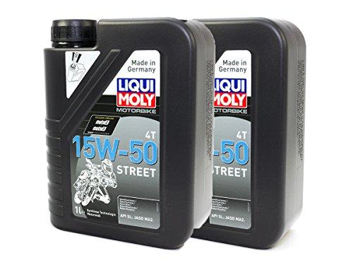 LIQUI MOLY Motoröl High Performance 15W-50 2 x 1 Liter