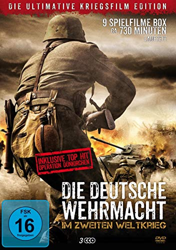 Die ultimative Kriegsfilm-Edition (9 Filme auf 3 DVDs)
