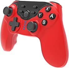 Joytorn Wireless Controller for Nintendo Switch Remote Pro Controller Gamepads-Red