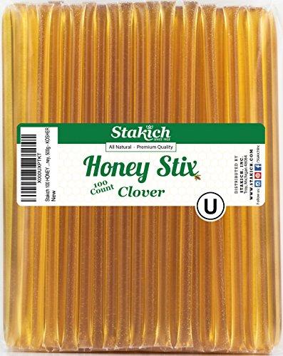 Stakich Clover Honey Stix (100 Stix)