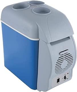 Refrigerador del coche Akozon Mini refrigerador para acampar en el hogar Refrigerador el/éctrico de la caja refrigeradora Calentador port/átil de viaje Congelador de caja 12V 7.5L