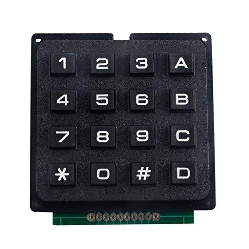Gazechimp 4 X 4 Matrix 16 Tasten Tastatur Modul Keypad Für Arduino