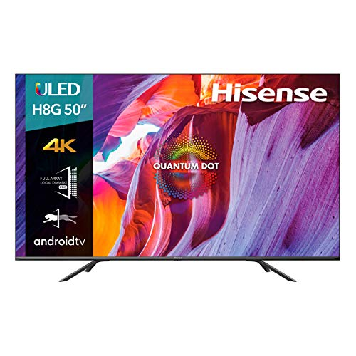 Hisense 50-Inch Class H8 Quantum Series Android 4K ULED Smart TV with...