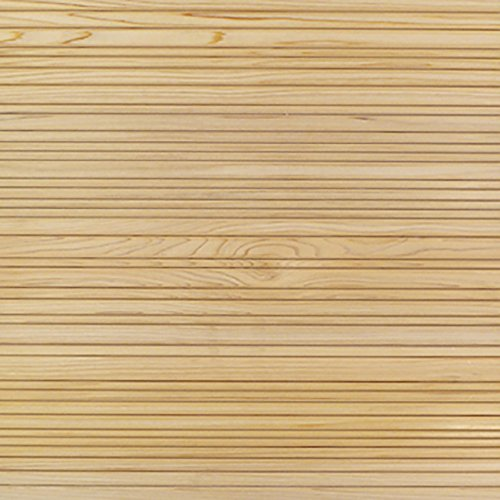 朝日ウッドテック クールジャパン スクエア桧 ストレート・シンプル 1P IFKS1P0009 クリアー塗装 3.6×44.4×44.4cm