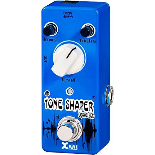 XVive XVV15 Tone Shaper Micro Guitar Effects Pedal for Bass or Guitar