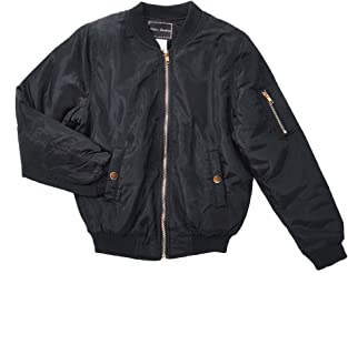 Best girls black bomber jacket Reviews
