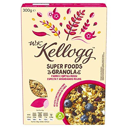 W.K Kellogg Super Foods Granolas - 300 g