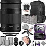 Tamron 18-400mm f/3.5-6.3 Di II VC HLD Lens for Nikon F with Altura Photo Essential Accessory and Travel Bundle