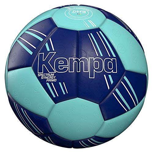 Kempa Unisex – Erwachsene Spectrum Synergy Primo Ball, DEEP BLAU/Light BLAU, 3