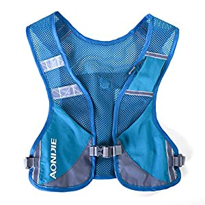511 Z9WphxL. SS300  - AONIJIE Unisex Running Chaleco de hidratación Ultraligero Mochilas Trail Ideal para Senderismo, maratón, Escalada y Ciclismo