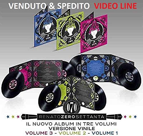 RENATO ZERO - Zerosettanta Vol.1,2,3 (180 Grammi 6 LP Vinile)
