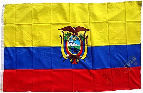 Buddel-Bini Versand Ecuador - Bandera grande (250 x 150 cm, resistente a la intemperie)