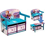Delta Children Kids Convertible Activity Bench, Disney Frozen II