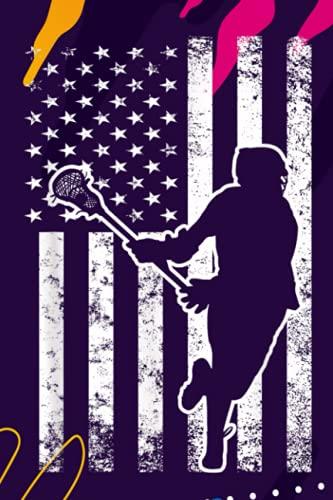 Gratitude Journal | Lacrosse LAX American USA Flag