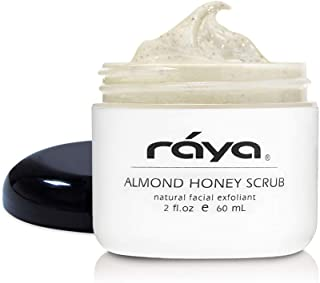 RAYA Almond Honey Facial Scrub (106)   Natural Exfoliating Facial Scrub for Non-Blemished Skin   Polishes, Softens, and Creates a Glowing Complexion