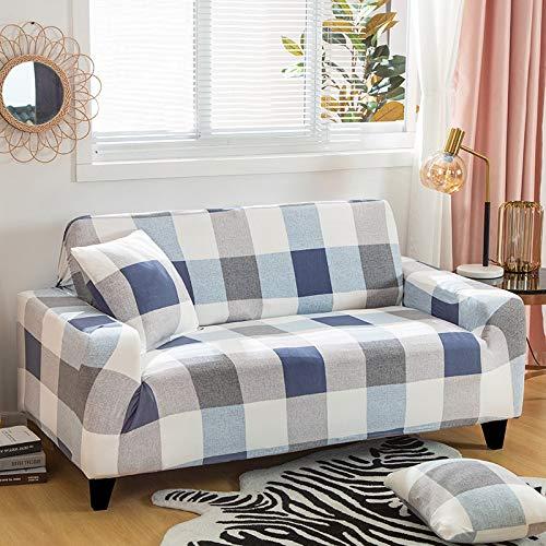PPMP Fundas de Spandex para sofá para Sala de Estar, Funda elástica para sofá, Fundas para sillón, Protector de Muebles A7, 1 Plaza
