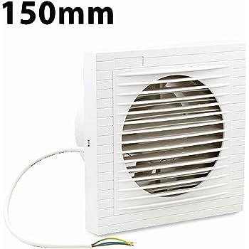 Ventiladores extractor de baño aire 150 mm Silencioso, Ventiladores de baño, Ideal para baño,cocina,inodoro,oficina,silencioso,alta calidad: Amazon.es: Bricolaje y herramientas