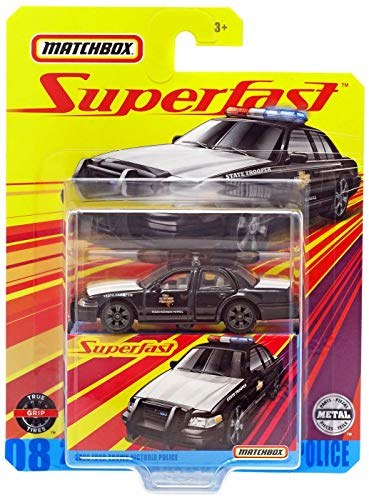 Matchbox Superfast 2006 Ford Crown Victoria Police #08
