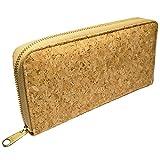Portmonee Geldbörse für Damen Zip in Geldbeutel aus Kork