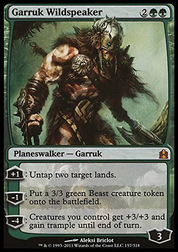 Magic The Gathering - Garruk Wildspeaker - Commander