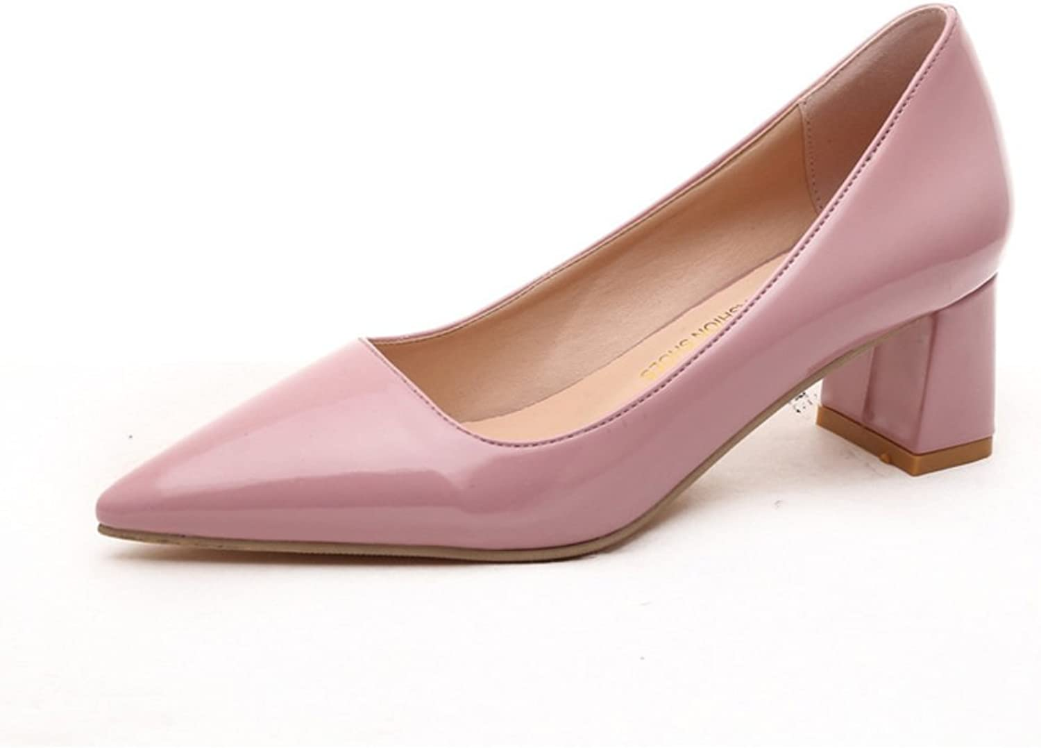 Spring bow high heel womens shoes Pointed stiletto comfortable and versatile shoes