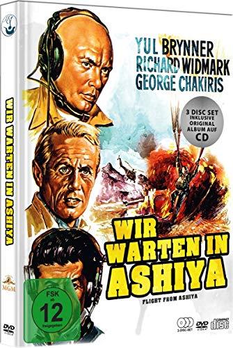 Wir warten in Ashiya - Special Edition Limited Mediabook (+ Soundtrack CD) [2 DVDs]