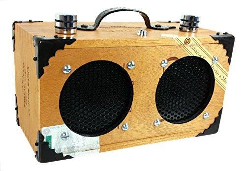 'The Dually' Cigar Box Guitar Amplifier: Dual-Speaker amplifier for Guitars, Cigar Box Guitars & More