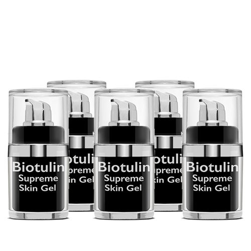 Biotulin - 5x15 ml Supreme Skin Gel - Limitierte Edition!