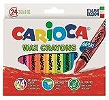 Carioca - Caja con 24 ceras pastel (A36150024)