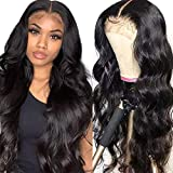 Goldfinch Body Wave Lace Closure Wig Long Human Hair Wig 30 Inch Lace Front Wig Pre Plucked 150% Density 10A Virgin Hair Brazilian 4x4 Closure Wig For Black Women