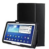 subtel® Etui Smart Case Compatible avec Samsung Galaxy Tab 3 10.1 (P5200 / P5210 / P5220) Cuir...