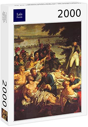 Lais Puzzle Charles Meynier - El Regreso de Napoleón a la Isla de Lobau el 23 de Mayo de 1809, Detalle 2000 Piezas
