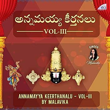 Annamayya Sankeerthanalu, Vol. III